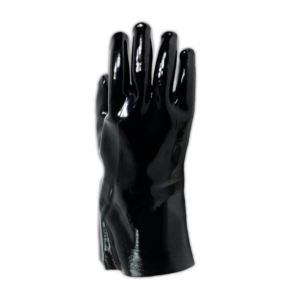 Large SHOWA 6797 Neoprene-Coated Sanitized Glove Cotton Liner Showa Best Glove Inc 6797-10 Pack of 12 Pairs Chemical Resistant