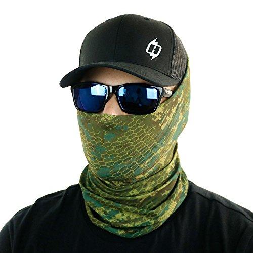 Woodland Camo Bandana Mask - 5