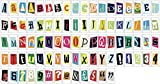85 Piece RANSOM Letter Pack for Locomocean A4 Light Box