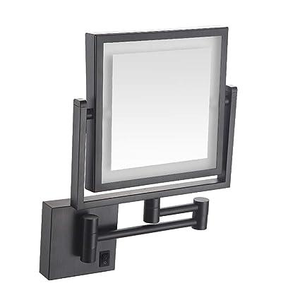 Amazon.com ALWUD LED Makeup Vanity Mirrors, Square Double