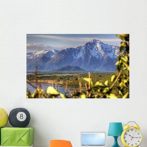 Scenic Pioneer Peak near Wall Mural by Wallmonkeys Peel and Stick Graphic (48 in W x 30 in H) WM270990