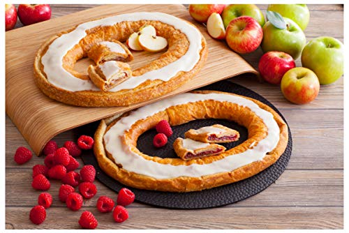 Danish Kringle Pair - Apple & Raspberry ()