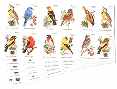 USPS Forever Stamps Songbirds Stamps by USPS