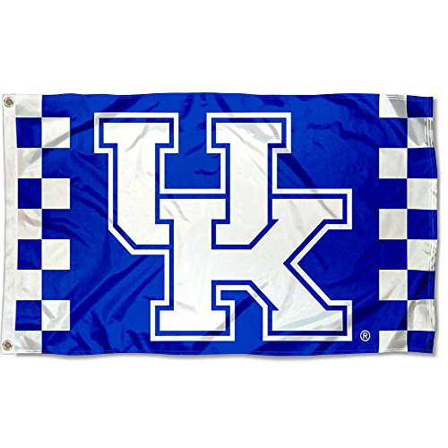College Flags and Banners Co. Kentucky Wildcats Checkered Board Flag