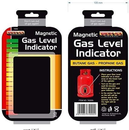 Mucho calor magnético de GLP Camping casa medidor de gas ...