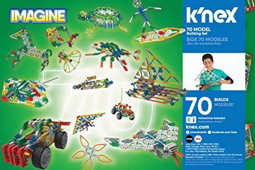 Review K'NEX 70 Model Building