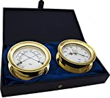 American Flag 5.85 Windlass Gift Set presented in a Leather Finish Felt Lined Gift Box with Clock and Comfort Meter