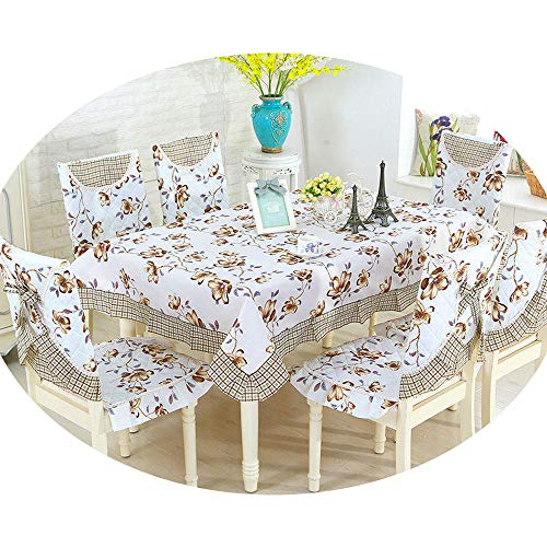 NDJqer New Colorful Maple Leaf Print Table Cover 1 Piece Wedding Party Decoration Table Cloth Soft Tablecloth LAN Yu About 130X180Cm