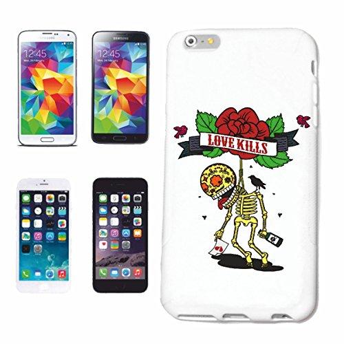 caja del teléfono iPhone 7 El amor mata VIDA DE MANERA STREETWEAR HIPHOP SALSA LEGENDARIO Caso duro de la cubierta Teléfono Cubiertas cubierta para el Apple iPhone en blanco