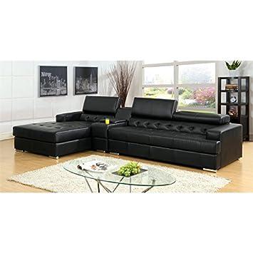 Amazon.com: Muebles de América Contreras 2 pieza polipiel ...