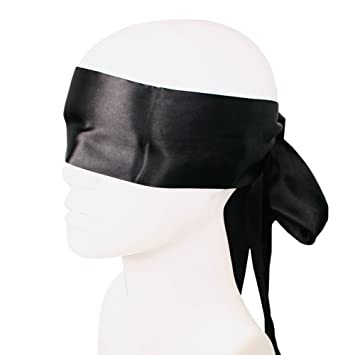 Tied Up Man Is Blindfolded