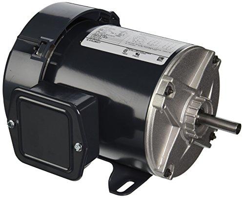 Marathon K151 48 Frame Totally Enclosed Fan Cooled 5K32GN30 General Purpose Motor, 1/4 hp, 1800 RPM, 208-230/460 VAC, 3 Phase, 1 Speed, Ball Bearing, Rigid -