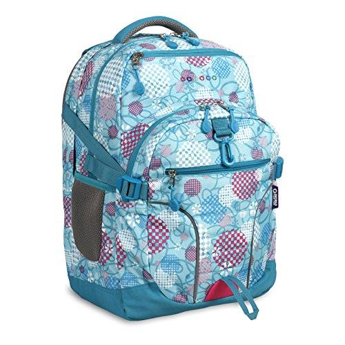 (J World New York Kids' Atom Multi-Compartment Laptop Backpack, Dandelion, One Size)