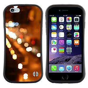 "Hypernova Slim Fit Dual Barniz Protector Caso Case Funda Para Apple (5.5 inches!!!) iPhone 6 Plus / 6S Plus ( 5.5 ) [Night City Lights Coches Calles""]"