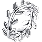 Anillos De Plata 925 New Collection Authentic Laurel Wreath Laurel Leaves Ring
