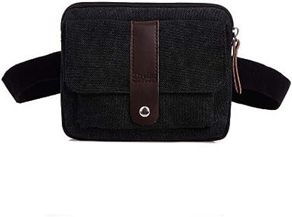 """XL Men women/'s Black Sport travel Waist Bag Fanny Pack for 5.5/"""" Phone case"""