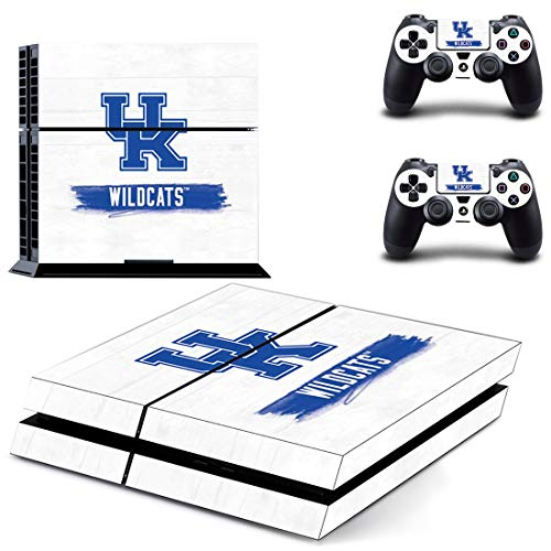 Adventure Games - PS4 ORIGINAL - UK Kentucky Wildcats - Playstation 4 Vinyl Console Skin Decal Sticker + 2 Controller Skins Set
