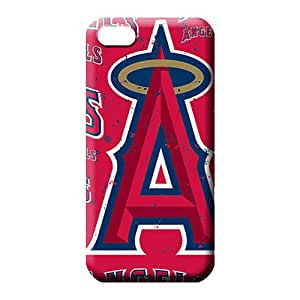 iphone 5c phone carrying cover skin Premium Proof Protective los angeles angels mlb baseball