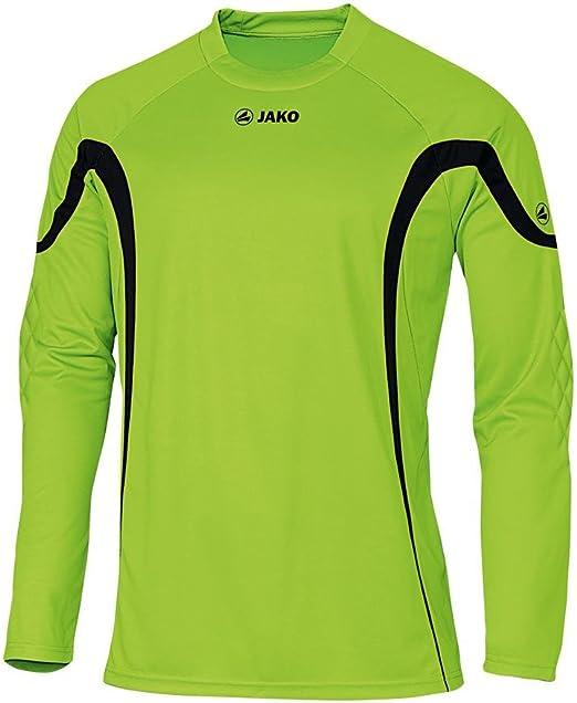 JAKO Torwarttrikot Joker ohne Nr. - Camiseta de Portero de fútbol para niño, Color Verde/Negro, Talla 12 años (152 cm): Amazon.es: Ropa y accesorios