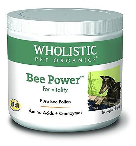 Wholistic Pet Organics Bee Powder Supplement, 8 oz (Holistic Granules)