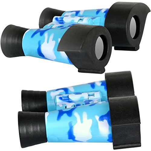7TECH Binoculars Mini Cute For Kids Explore Tools Outdoor Educational Activity Toys Blue