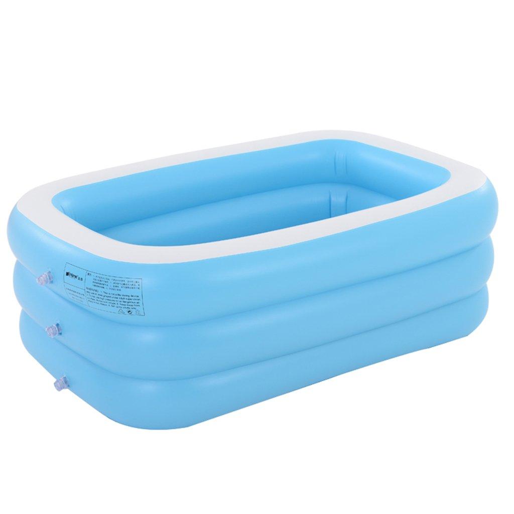 Reducción de precio YDYLZC- Bañera, bañera inflable, bañera para el hogar, niños amantes, bañera para adultos, cubo de baño, bañera plegable, bañera suave (Color : D)