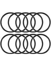 uxcell Nitrile Rubber O-Rings 51mm OD 44mm ID 3.5mm Width, Metric Sealing Gasket, Pack of 10