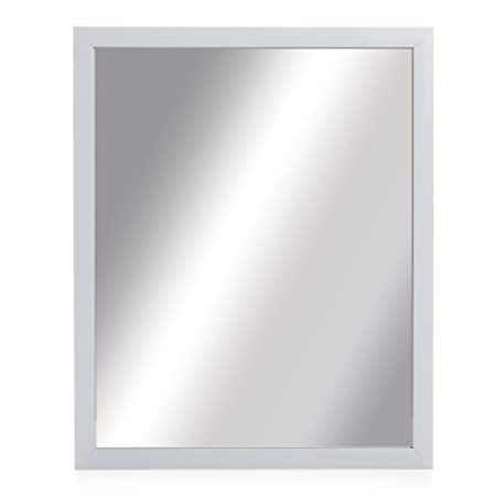 Lux Atelier Large Mirror Wall Mounted Dressing Mirror Mdf White ...