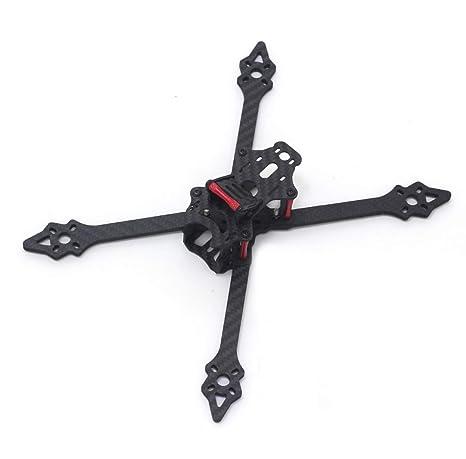 usmile xsu220 220 mm de fibra de carbono Quadcopter Quad X marco para FPV Drone Racing