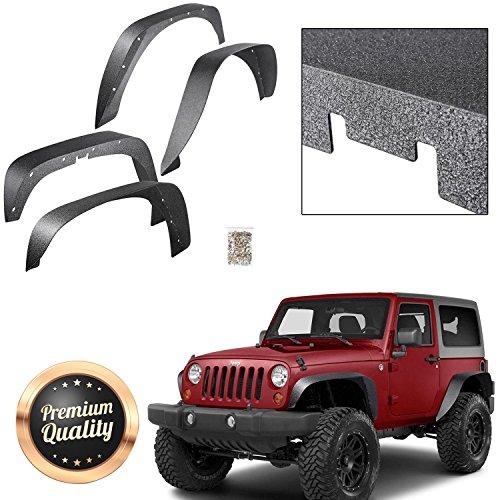 jeep liberty rear fender flare - 1