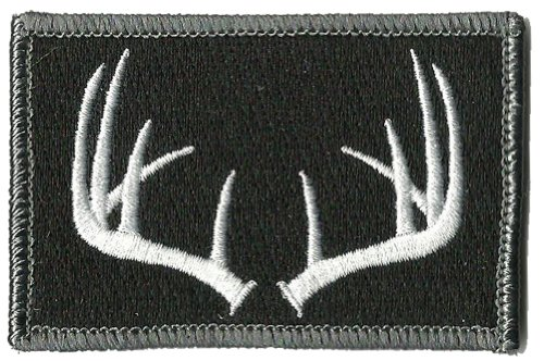 Tactical Wildlife Antlers Patch - Black ()