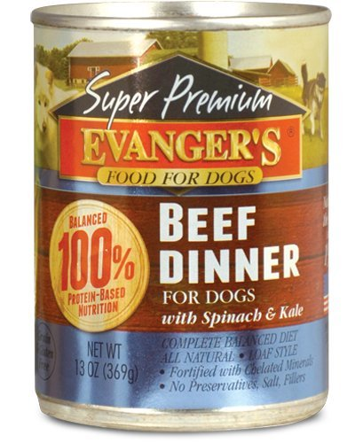 Evanger's Grain-free Super Premium Beef Dinner Canned Dog Food Review