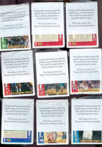 - 1996 Upper Deck Nestle Slam Dunk Basketball card 25 Pack Set Part of Box 1997