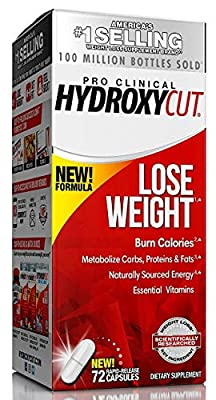 Hydroxycut Pro Clinical Weight Loss Supplement