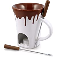 Swissmar Nostalgia - Juego de tazas de fondue (4 piezas)