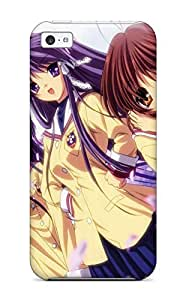 Hot Tpu Cover Case For Iphone/ 5c Case Cover Skin - Clannad