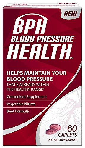 Cheap BPH Blood Pressure Health Caplets, 60 Count