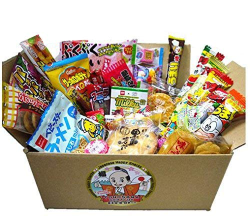 "Japanese snacks assortment 30pcs , full of dagashi. ""TONOSAMA"""