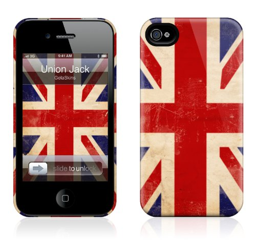GelaSkins iPh4THC-UJ The HardCase for iPhone 4/4S - 1 Pack - Retail Packaging - Union Jack