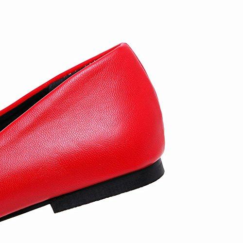 Rosso Senza Sottile Tacco MissSaSa col Elegante Donna Pumps qP7nUwg