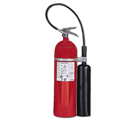 Kidde 466182 Pro 15 Carbon Dioxide Fire Extinguisher, Electronic Safe, Environmentally Safe, UL Rated 10-B C