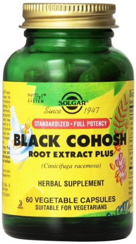 Cheap Solgar Standardized Full Potency Black Cohosh Root Extract Vegetable Capsules, 60 Count