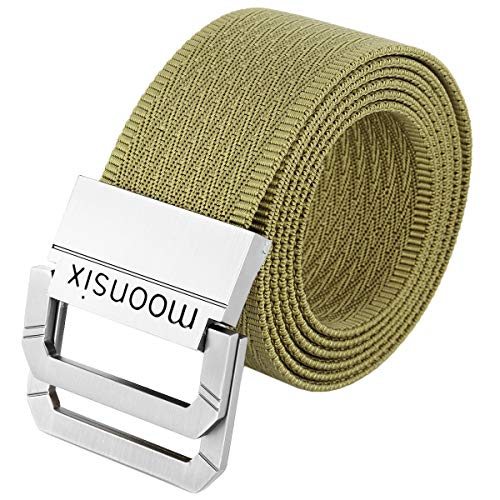 - moonsix Nylon Web Belts for Men,Tactical Military Style 1.5