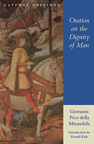 essay on oration on the dignity of man This is a new translation of and commentary on pico della mirandola's most famous work, the oration on the dignity of man it is the first english edition to provide readers with substantial notes on the text, essays that address the work's historical, philosophical and theological context, and a survey of its reception.