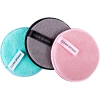 O Ozone Reusable Makeup Remover Sponge Cloth Face & Eye Cleansing Round Circle Puff Eco-friendly Washable Makeup…