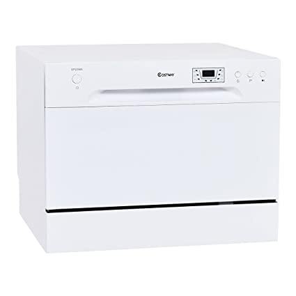 Costway Countertop Dishwasher Stainless Steel
