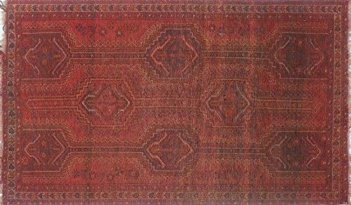 (Noori Rug Semi-Antique Bukhtiari Javad Red/Brown Rug (4'8 x)