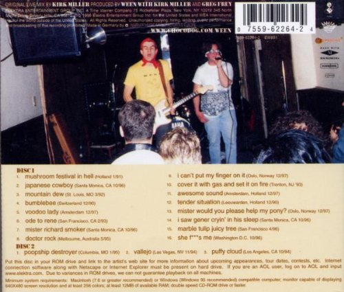Paintin' The Town Brown: Ween Live '90-'98 by Elektra / Wea