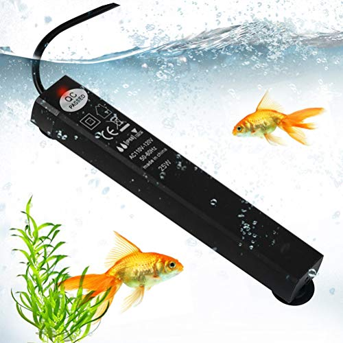ATPWONZ 25W Submersible Aquarium Heater, Betta Fish Tank Heater, Adjustable LED Digital Temperature Display Smart…