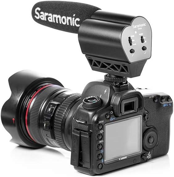 Saramonic VMIC Super-Cardioid Shotgun Condenser Video Microphone for DSLR Cameras Black